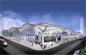 Artist's Impression of the new Spencer St Station