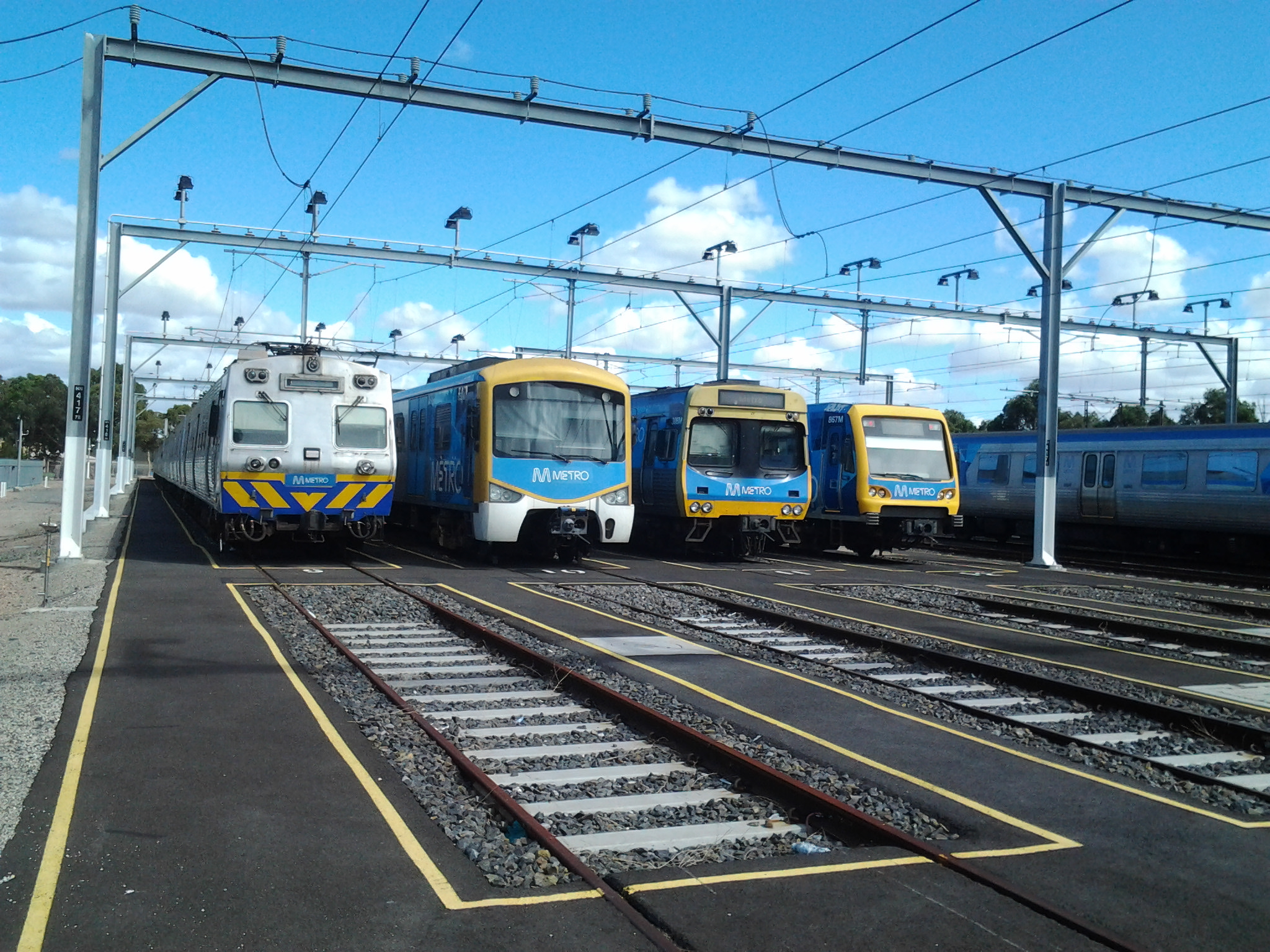 trains-in-a-row